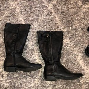 Size 7 black riding boots